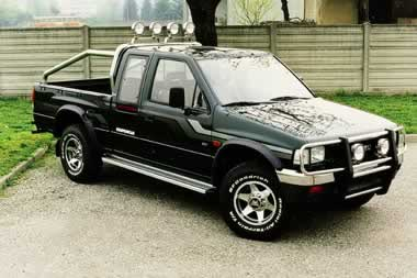 opel campo 4x4 pick up. Black Bedroom Furniture Sets. Home Design Ideas